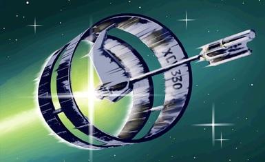 """Matt Jeffries Entwurf eines Enterprise-""""Ringschiffes"""""""